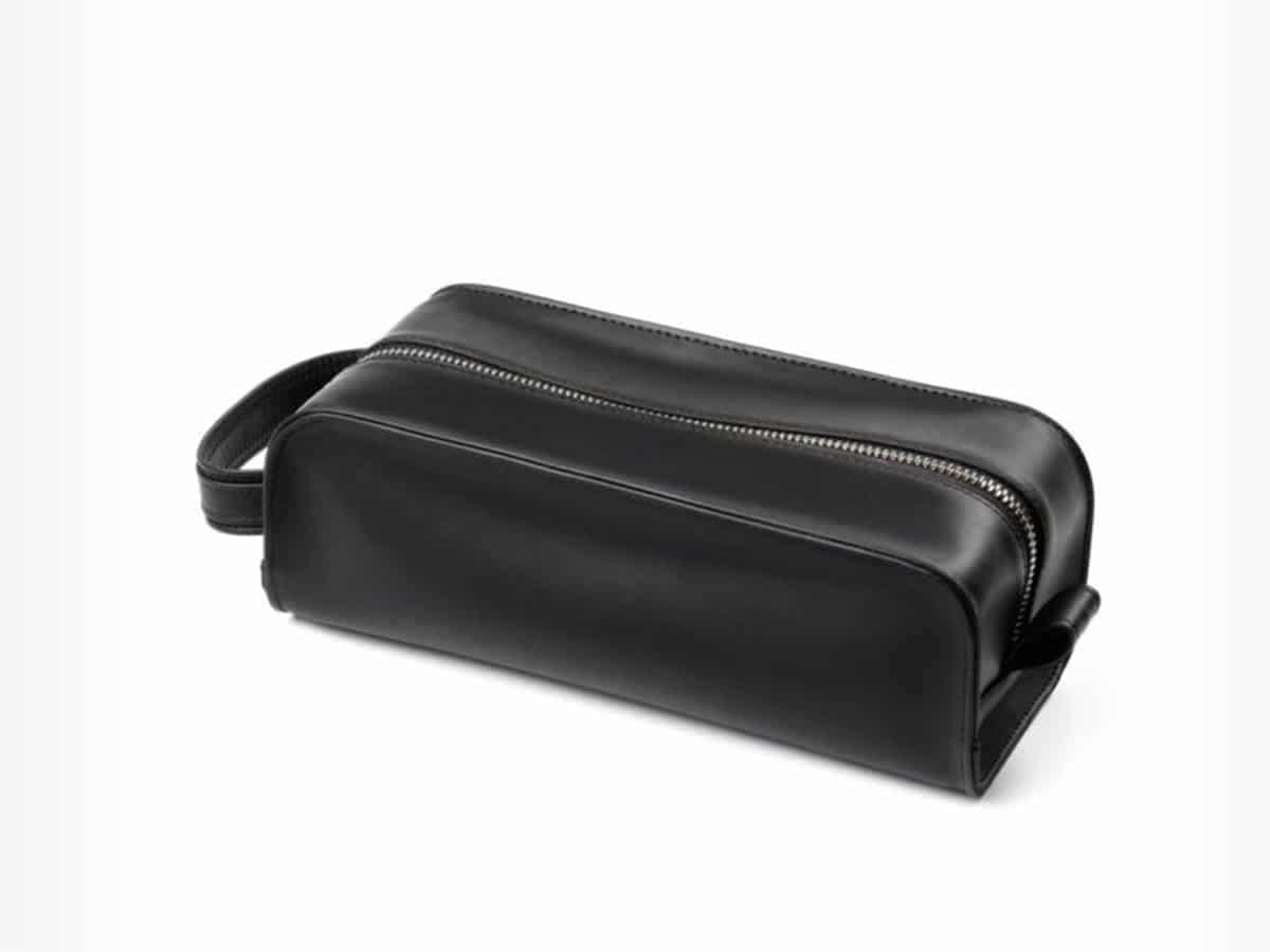 Driver Leather Dopp Kit from Allen Edmonds