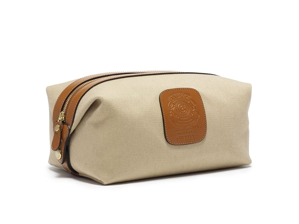 Holdall No. 101 Twill Travel Toiletry Bag from Ghurka