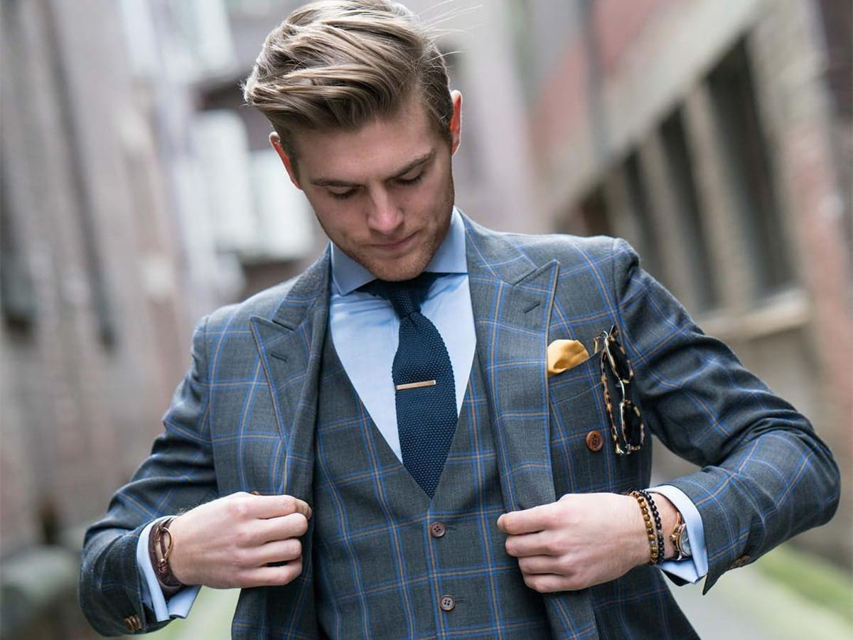 Sam Wines - Model and Blogger at Man of Style