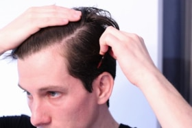 Which side should men comb part their hair 4