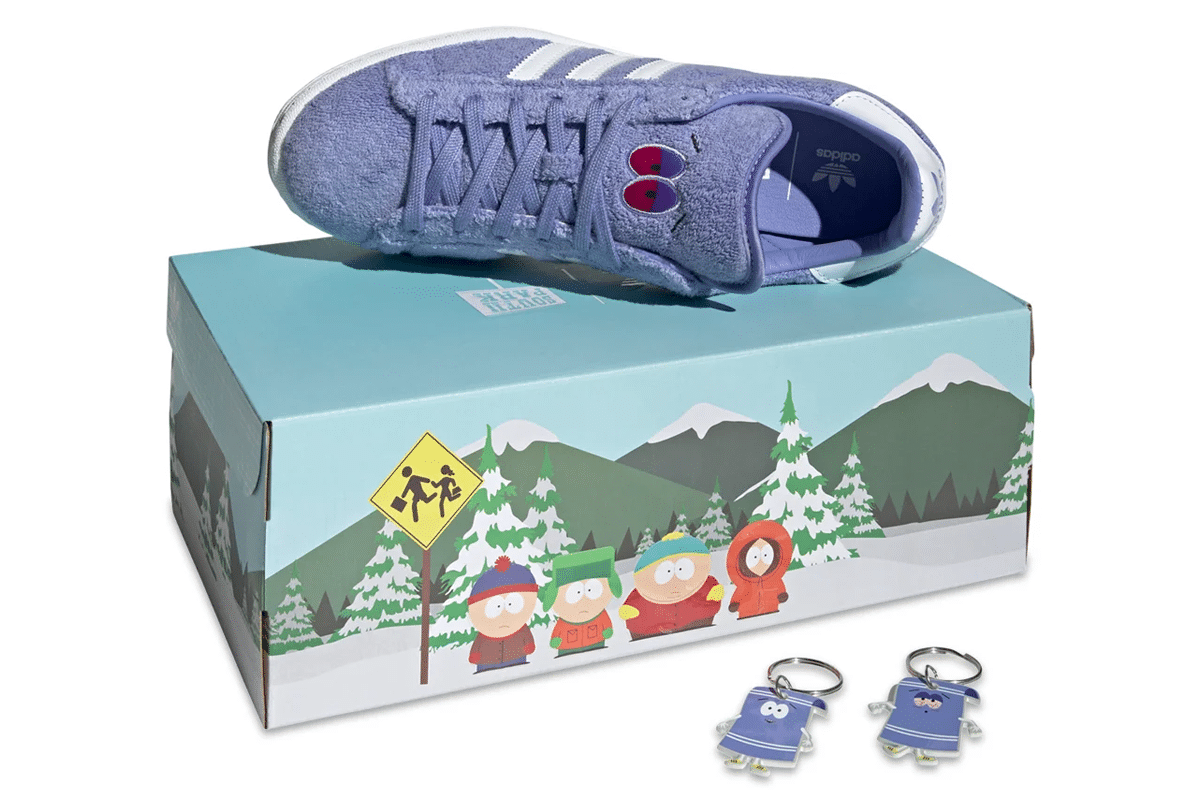 Adidas x south park campus 80s towelie box set