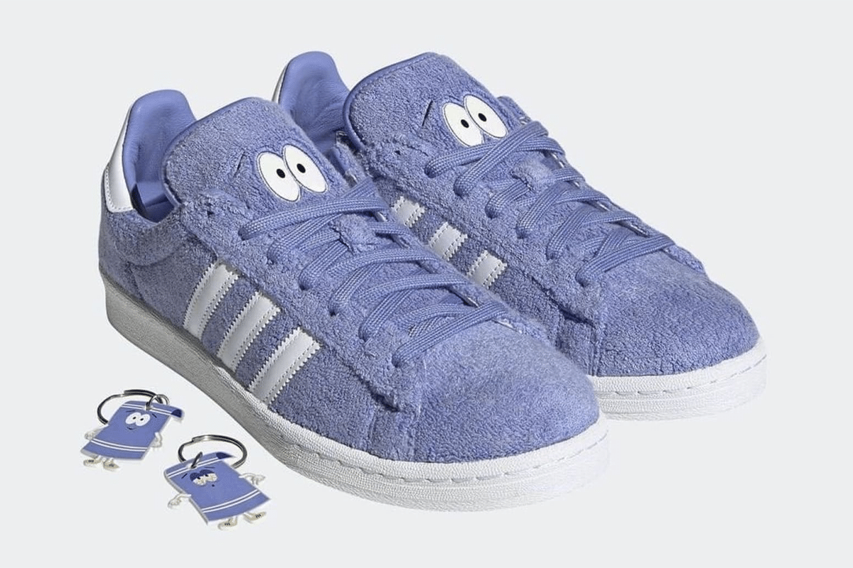 Adidas x south park campus 80s towelie feature