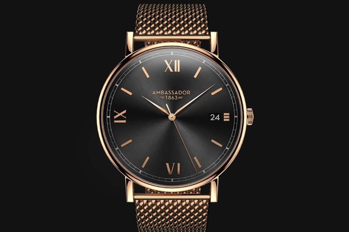 Ambassador minimalist watch
