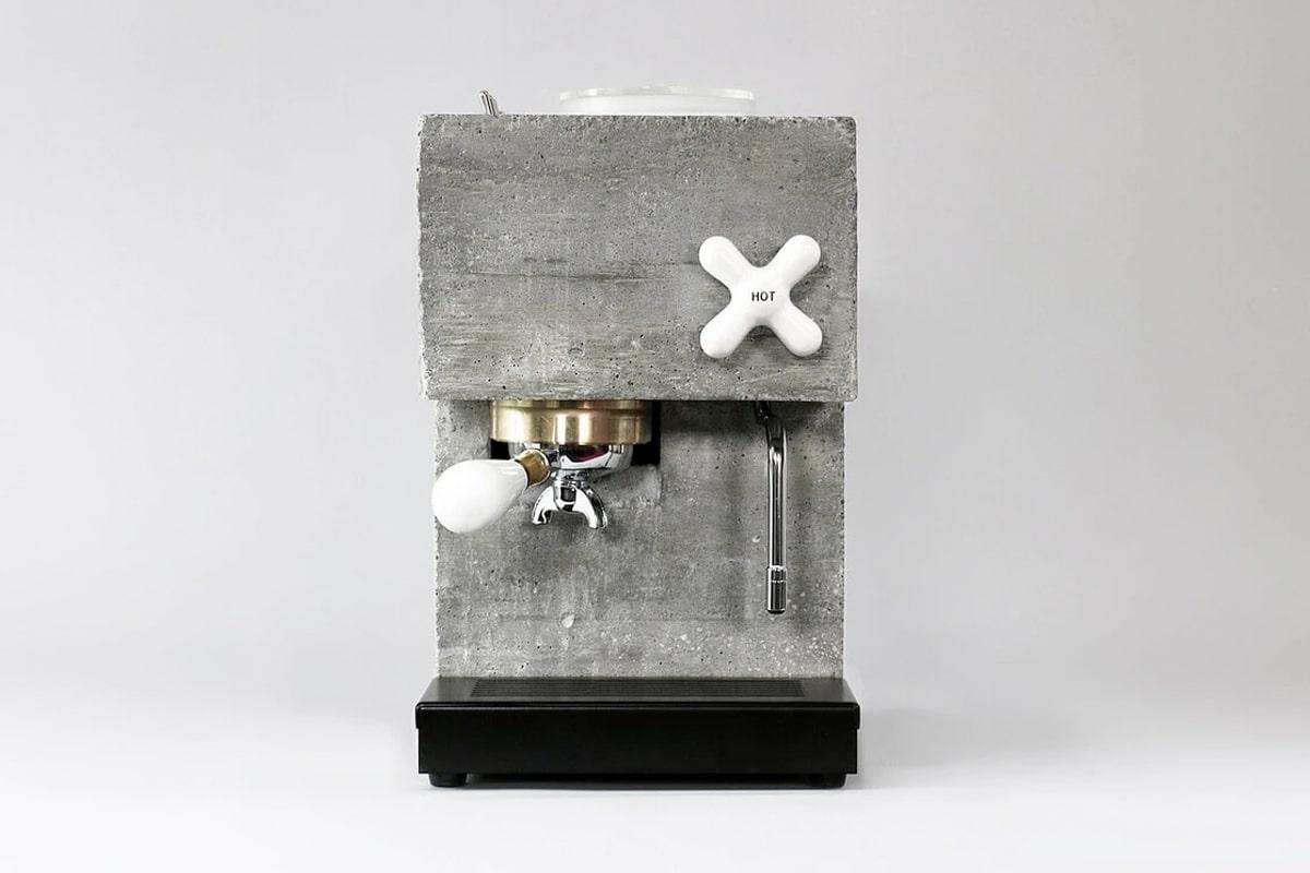 Anza concrete coffee machine 1