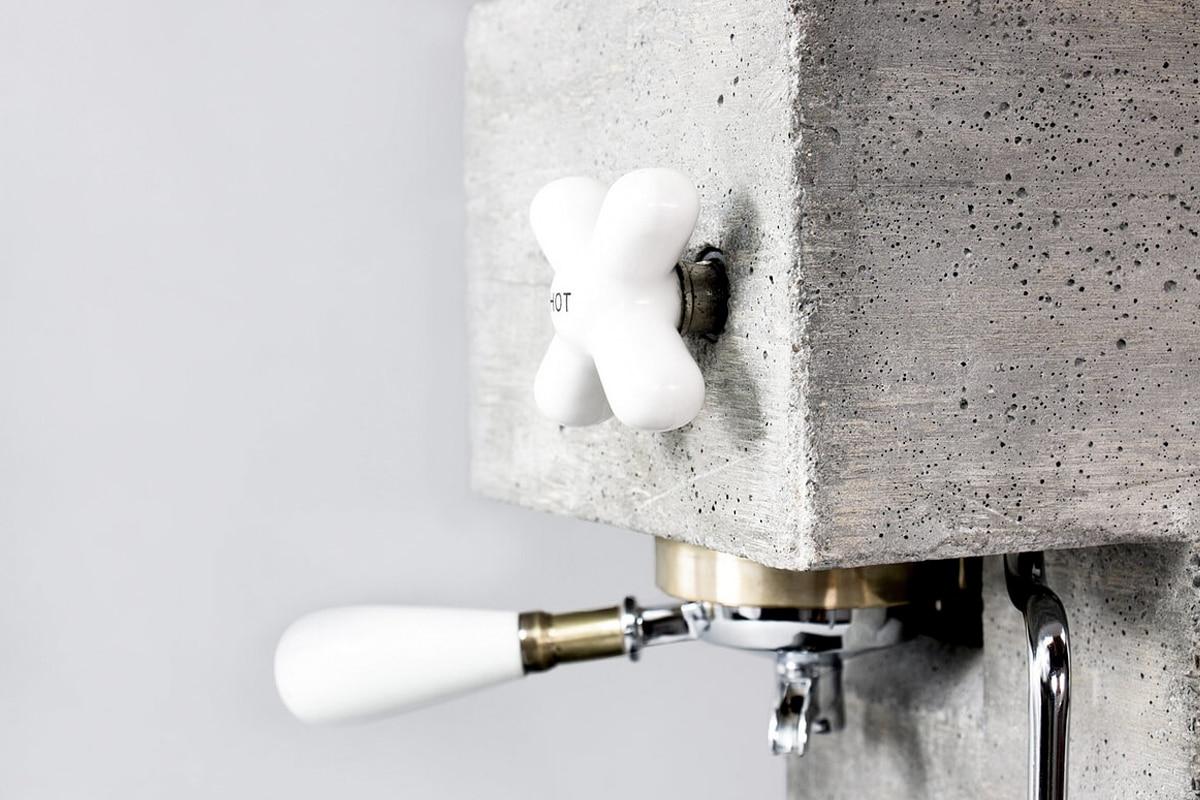 Anza concrete coffee machine 3