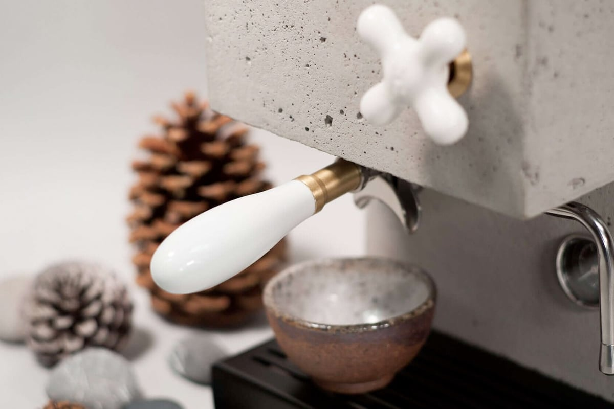 Anza concrete coffee machine 5