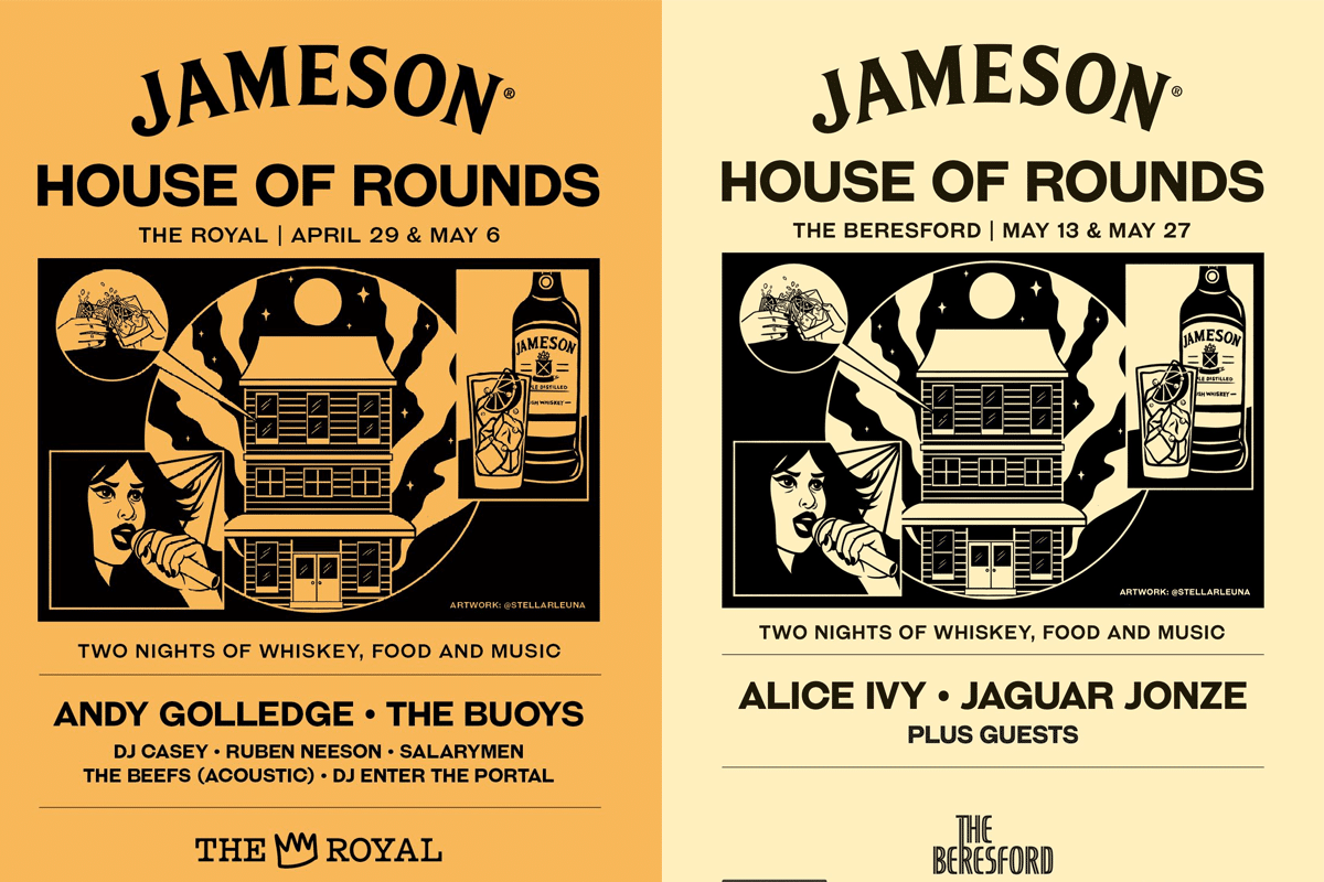 April 23rd jameson house of rounds returns