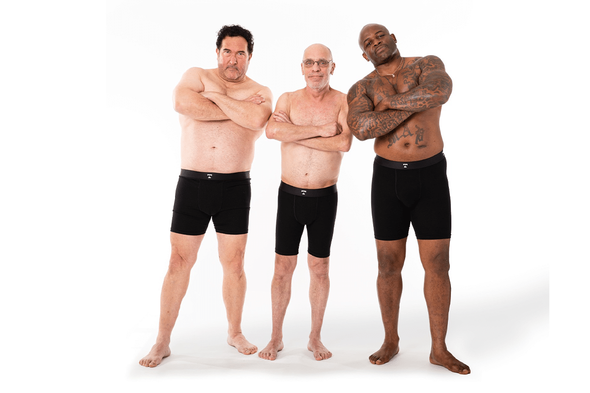 April 23rd real men strip down for a new body positivity campaign