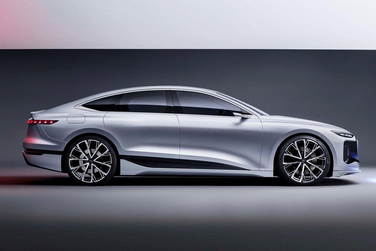 Audi a6 e tron concept 4