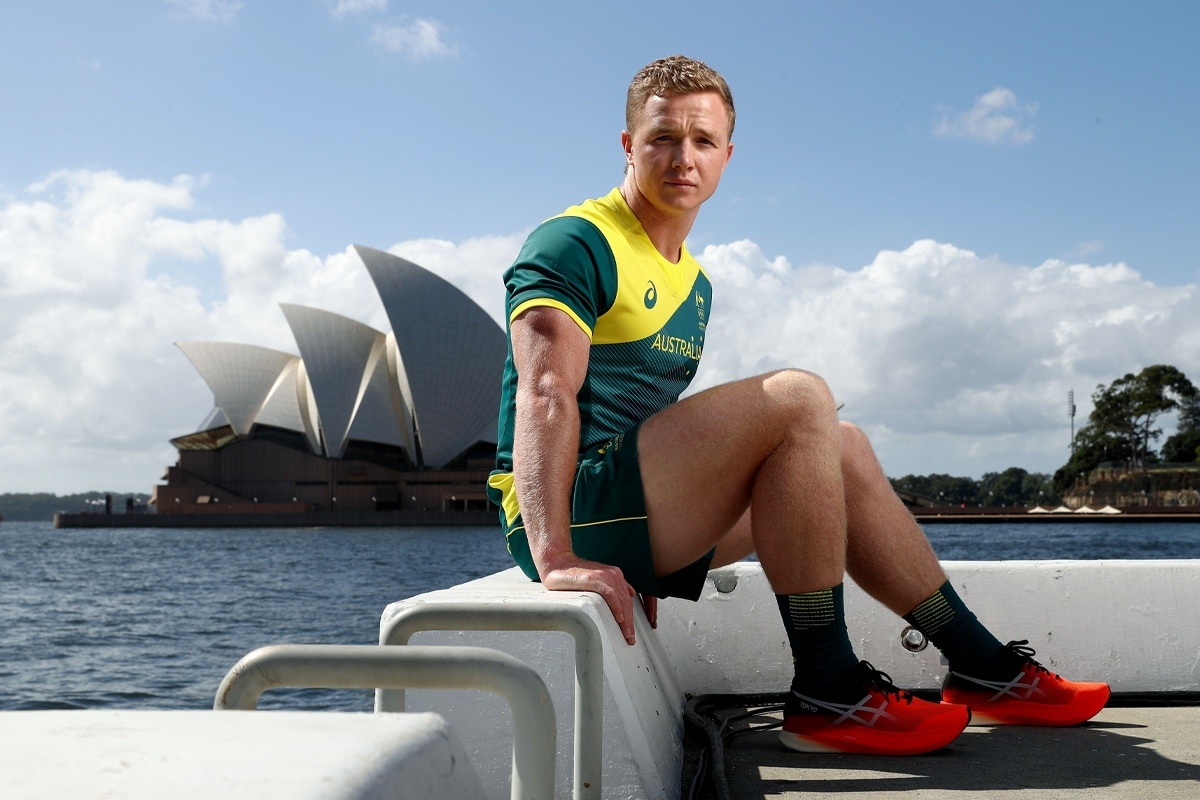 Australian olympic uniforms 2