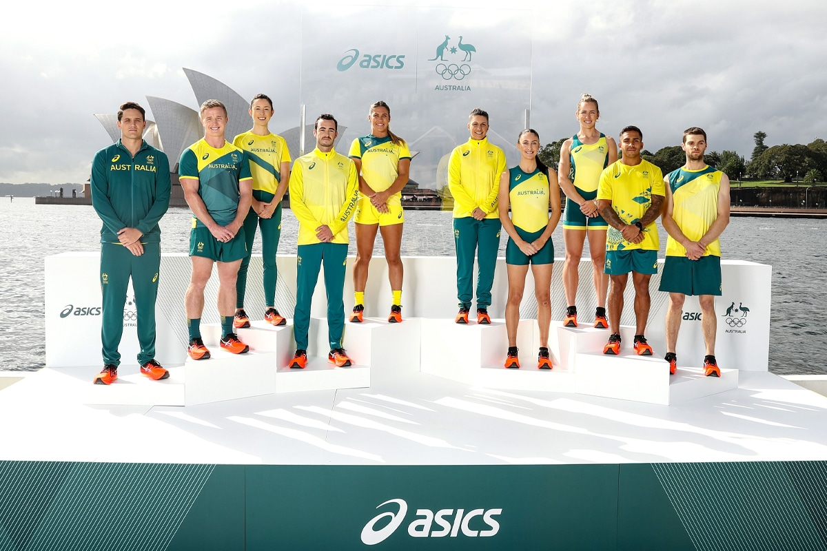 Australian olympic uniforms