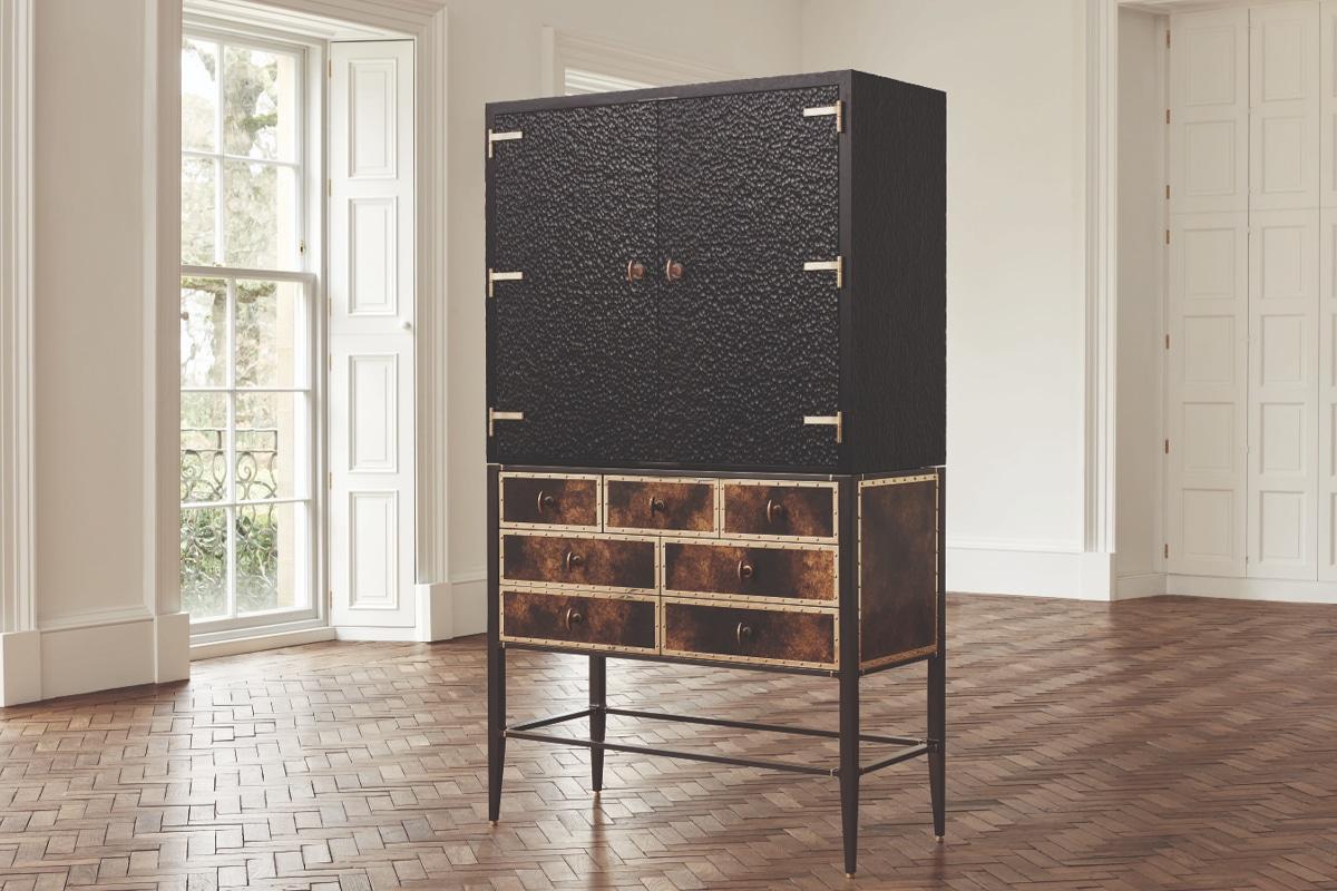 Black bowmore archive cabinet
