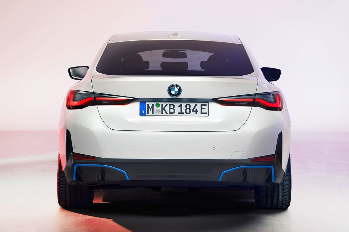 Bmw i4 electric sedan 5