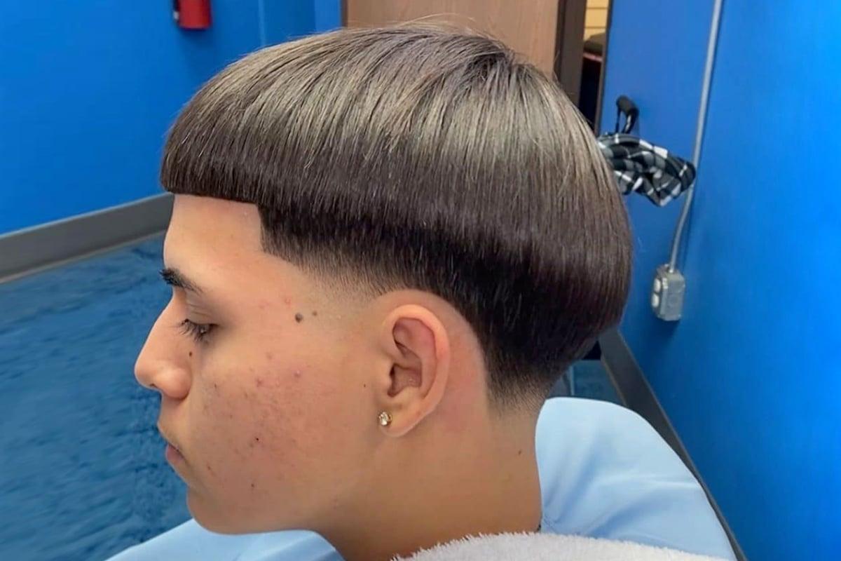 Bow cut taper