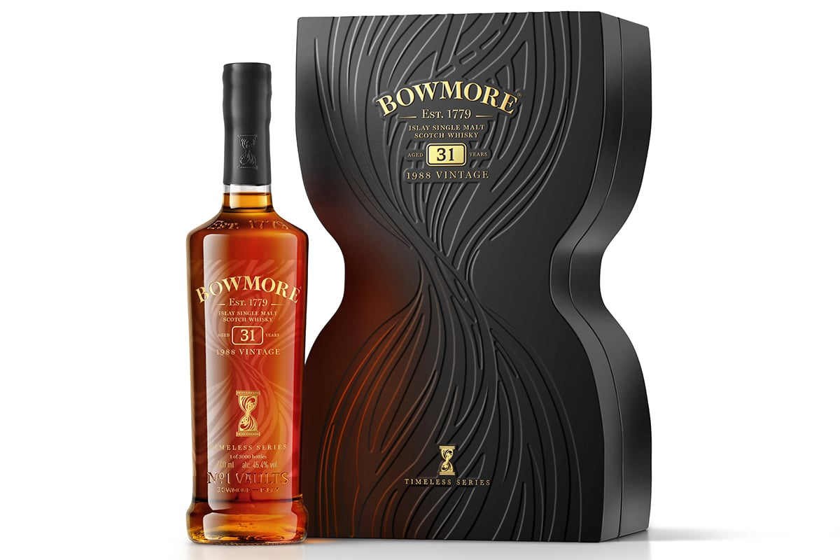 Bowmore timeless collection 5