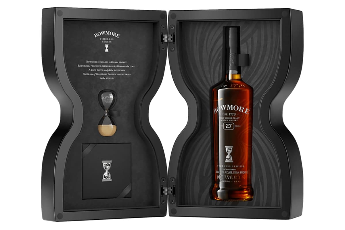 Bowmore timeless collection 8