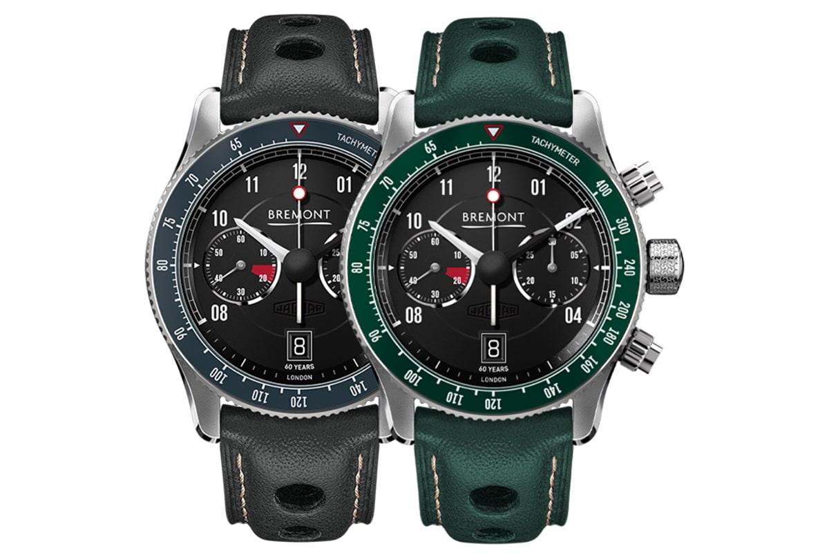 Bremont x jaguar e type 60th watch set 2