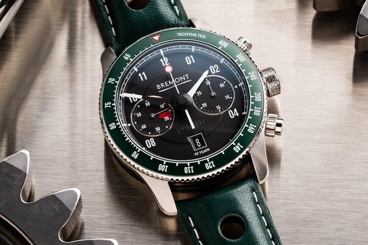 Bremont x jaguar e type 60th watch set 5