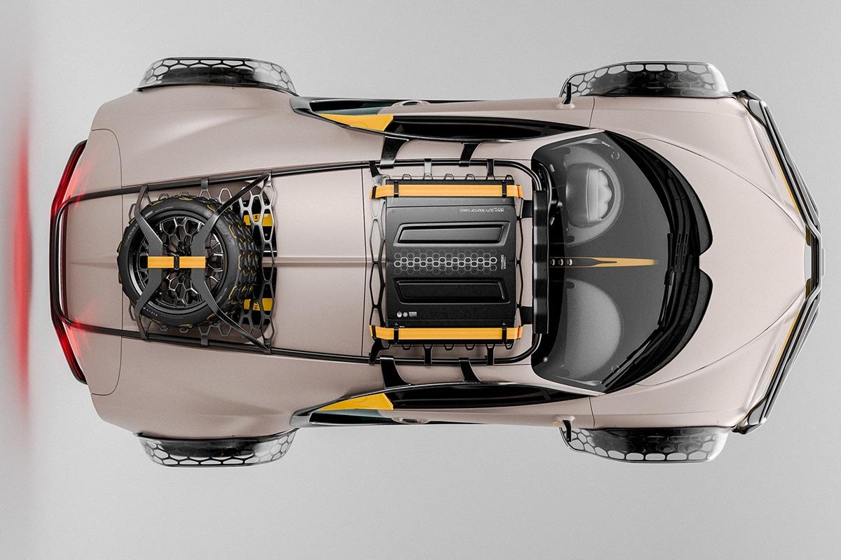Bugatti chiron terracross concept 3
