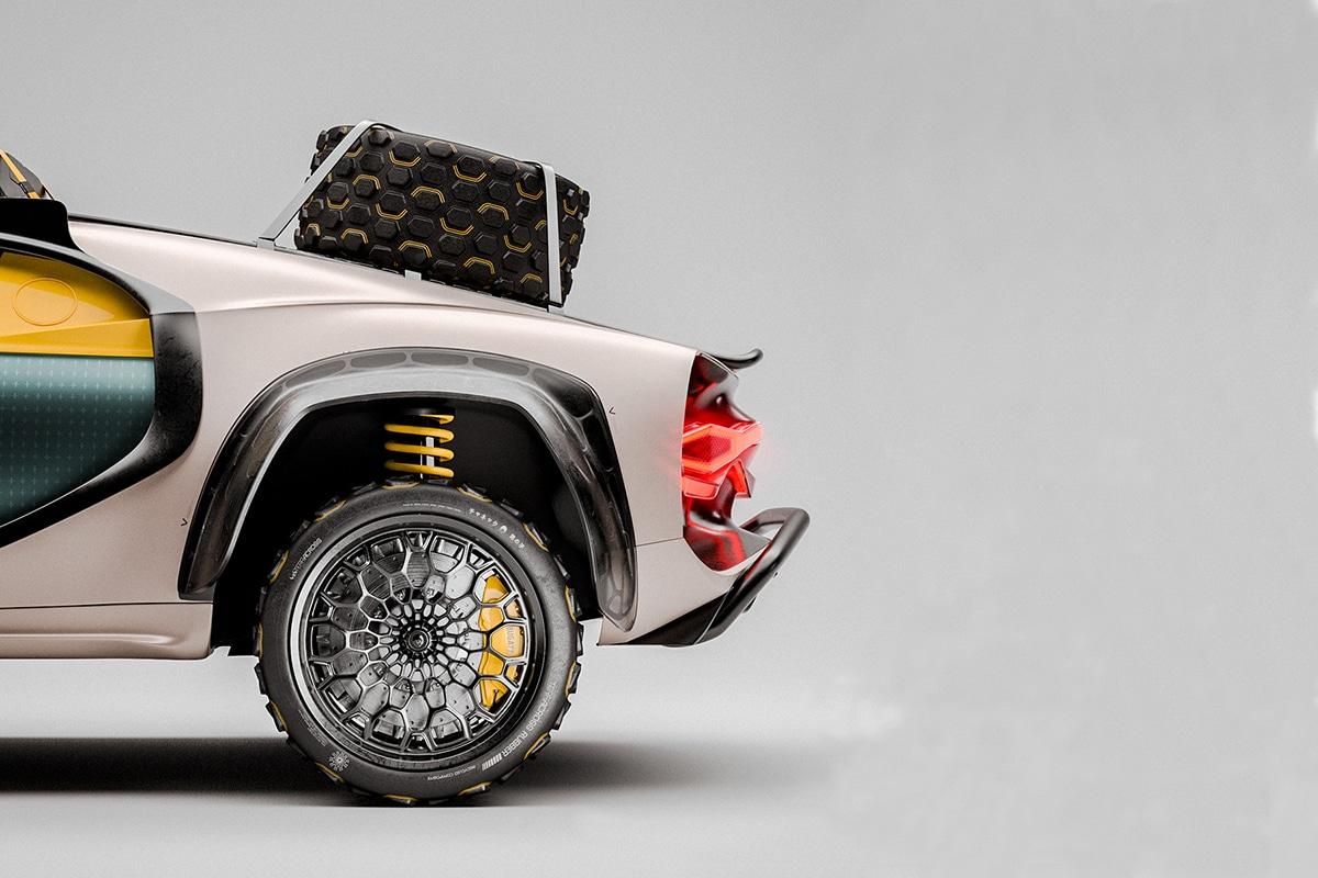 Bugatti chiron terracross concept 4