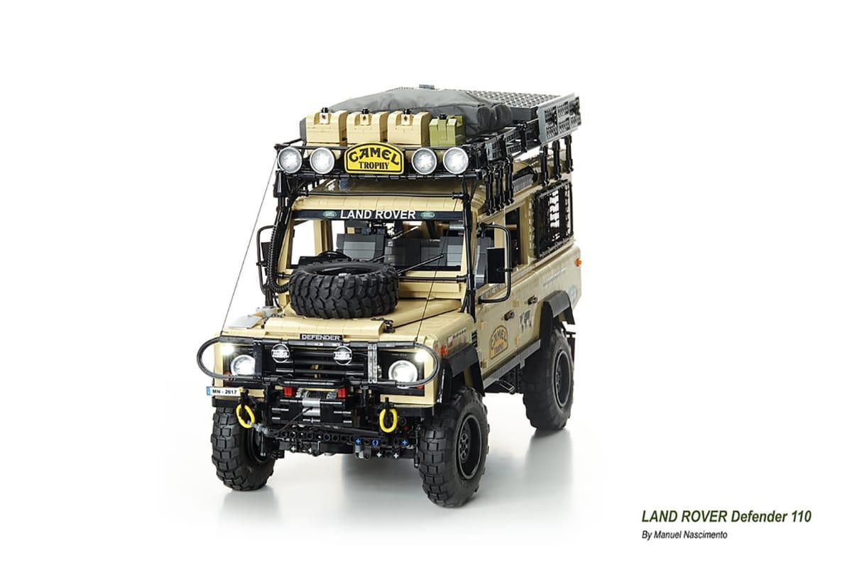 Camel x lego land rover build 3