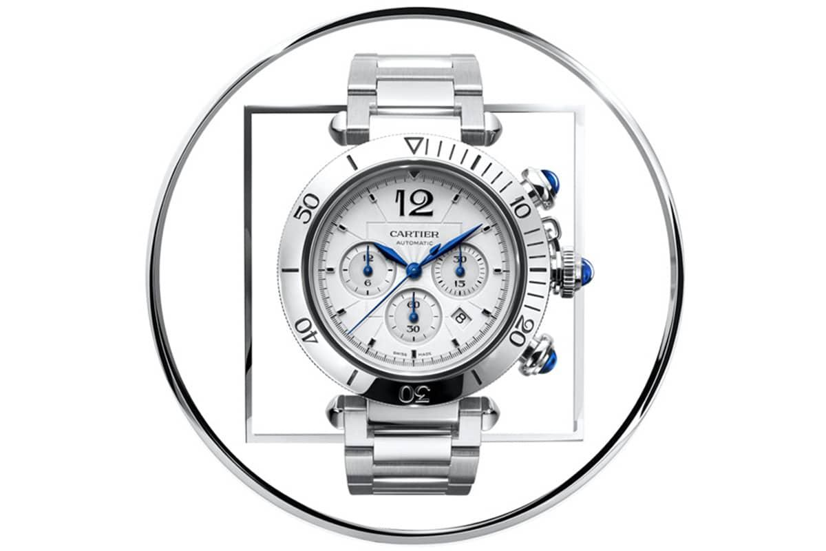 Cartier pasha de cartier 41 mm chronograph watch