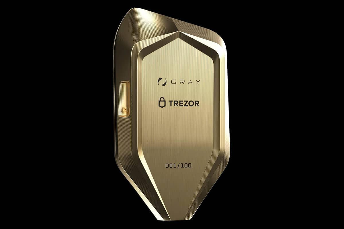 Corazon titanium crypto hardware wallet 1