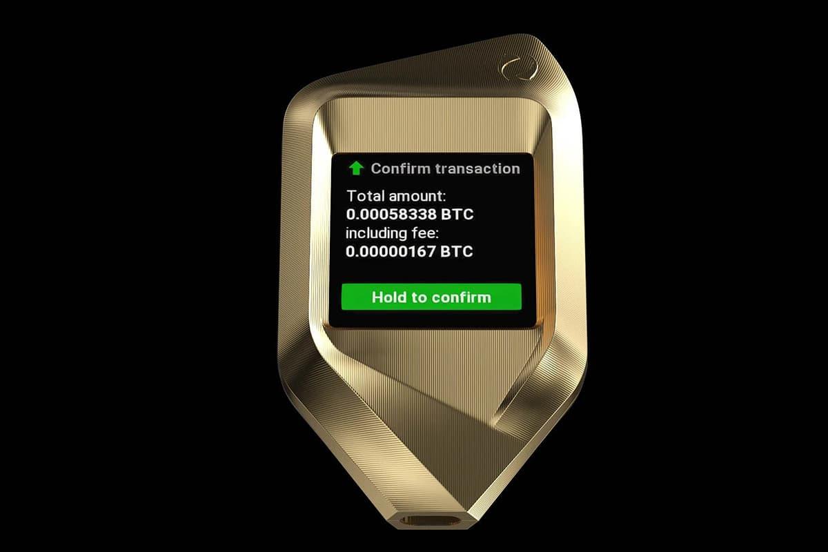 Corazon titanium crypto hardware wallet 4
