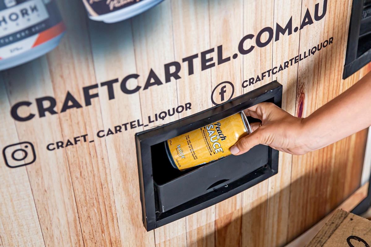 Craft cartel vending machine 1