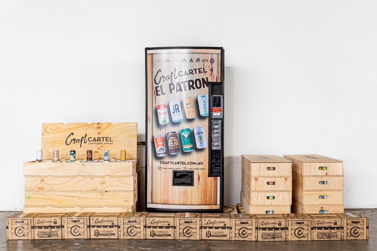 Craft cartel vending machine 2