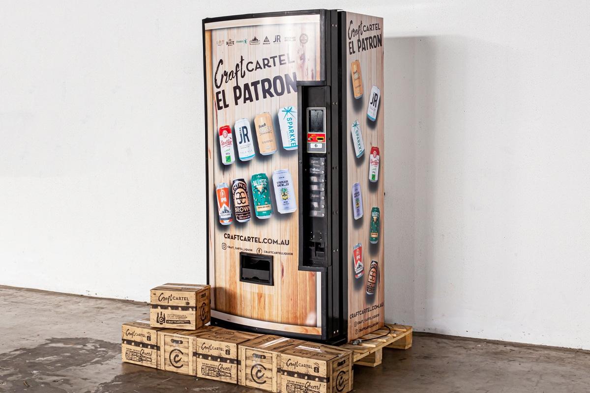 Craft cartel vending machine 3