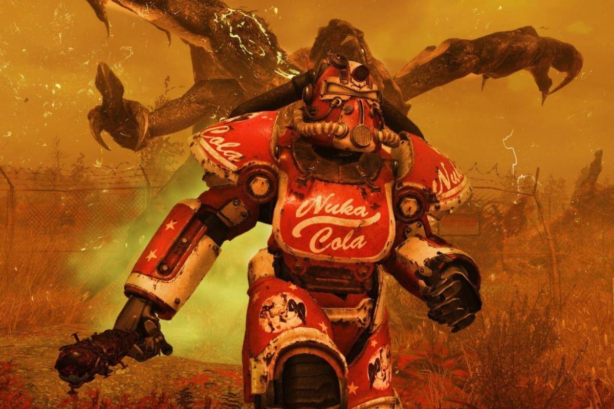 Fallout 76 nuka cola armor