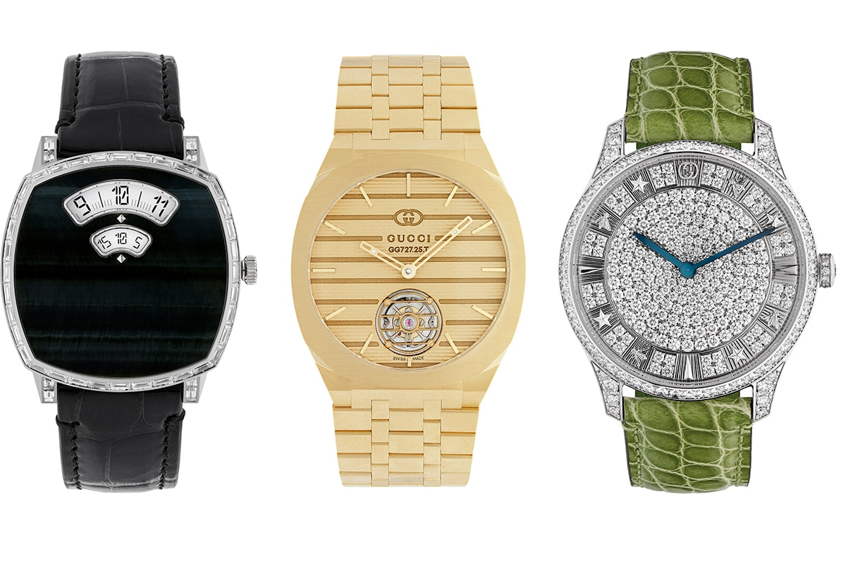 Gucci launches high watchmaking collections