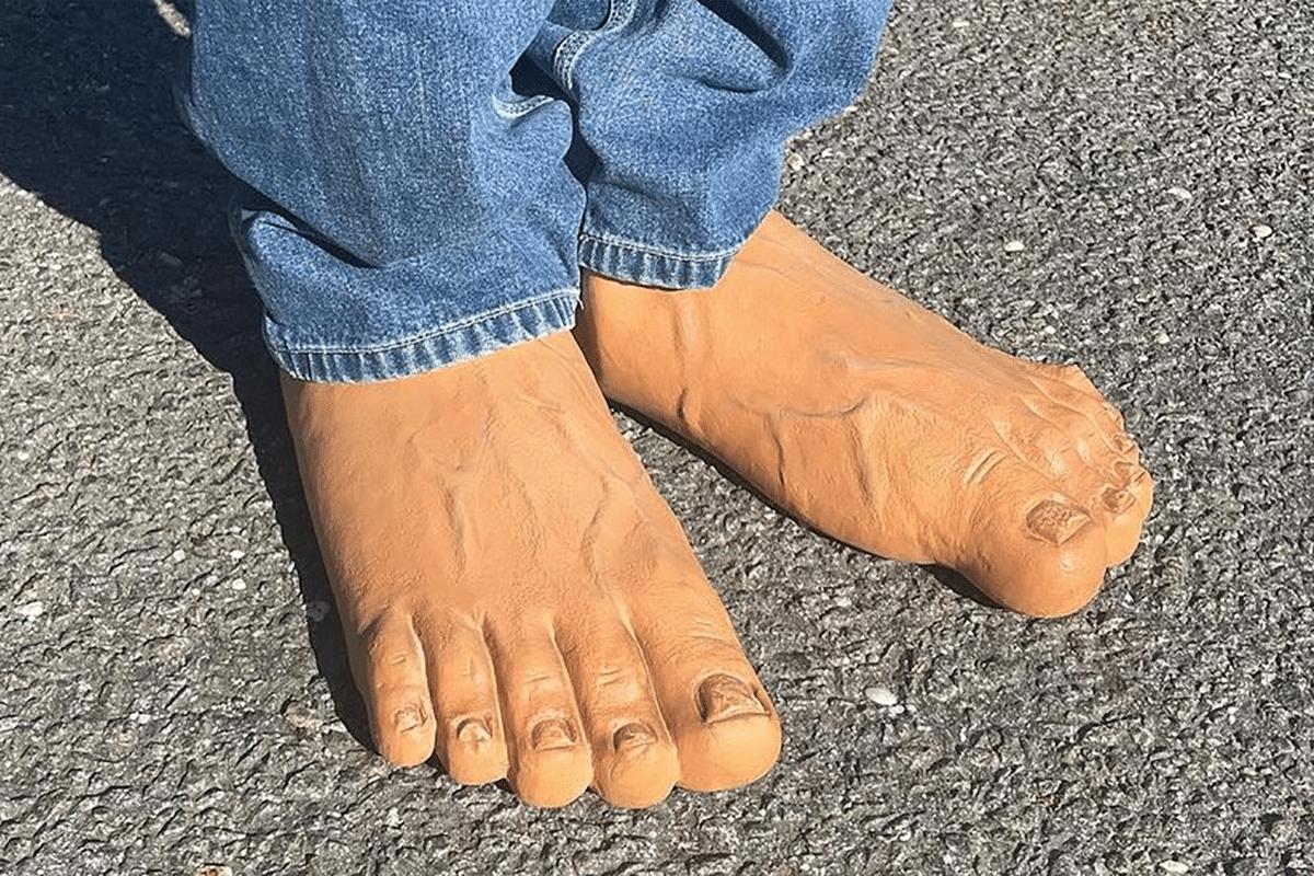 Imran potato human feet slides