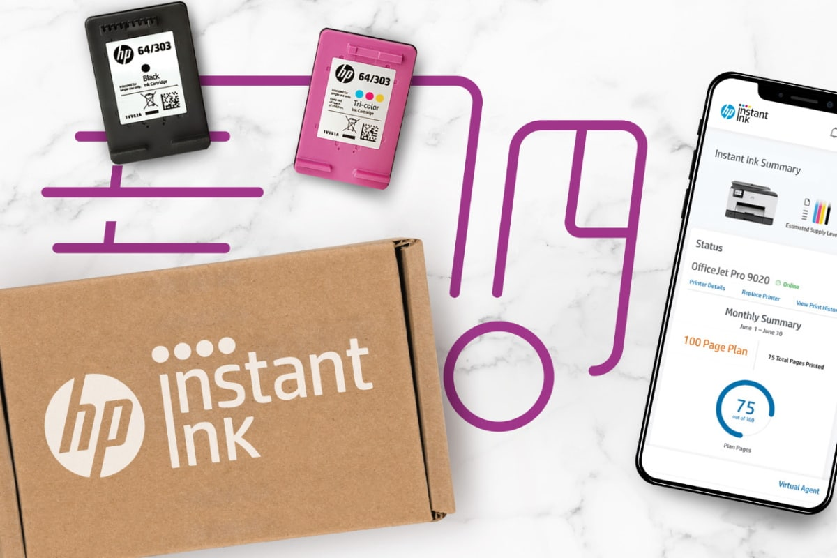 Instant ink service