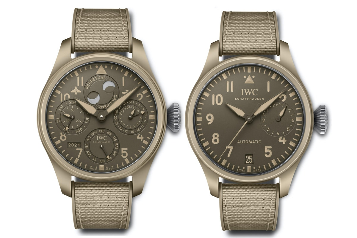 Iwc pilots watches mojave desert limited editions