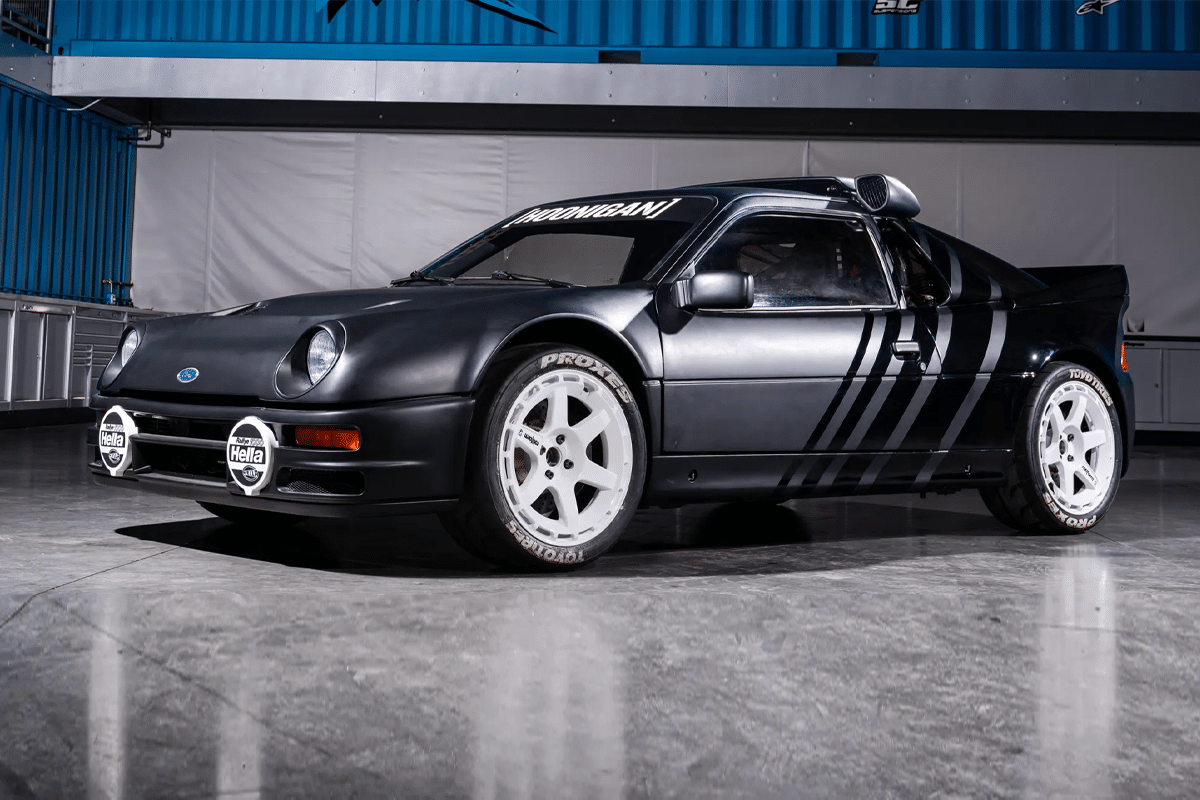 Ken blocks 1986 ford rs200