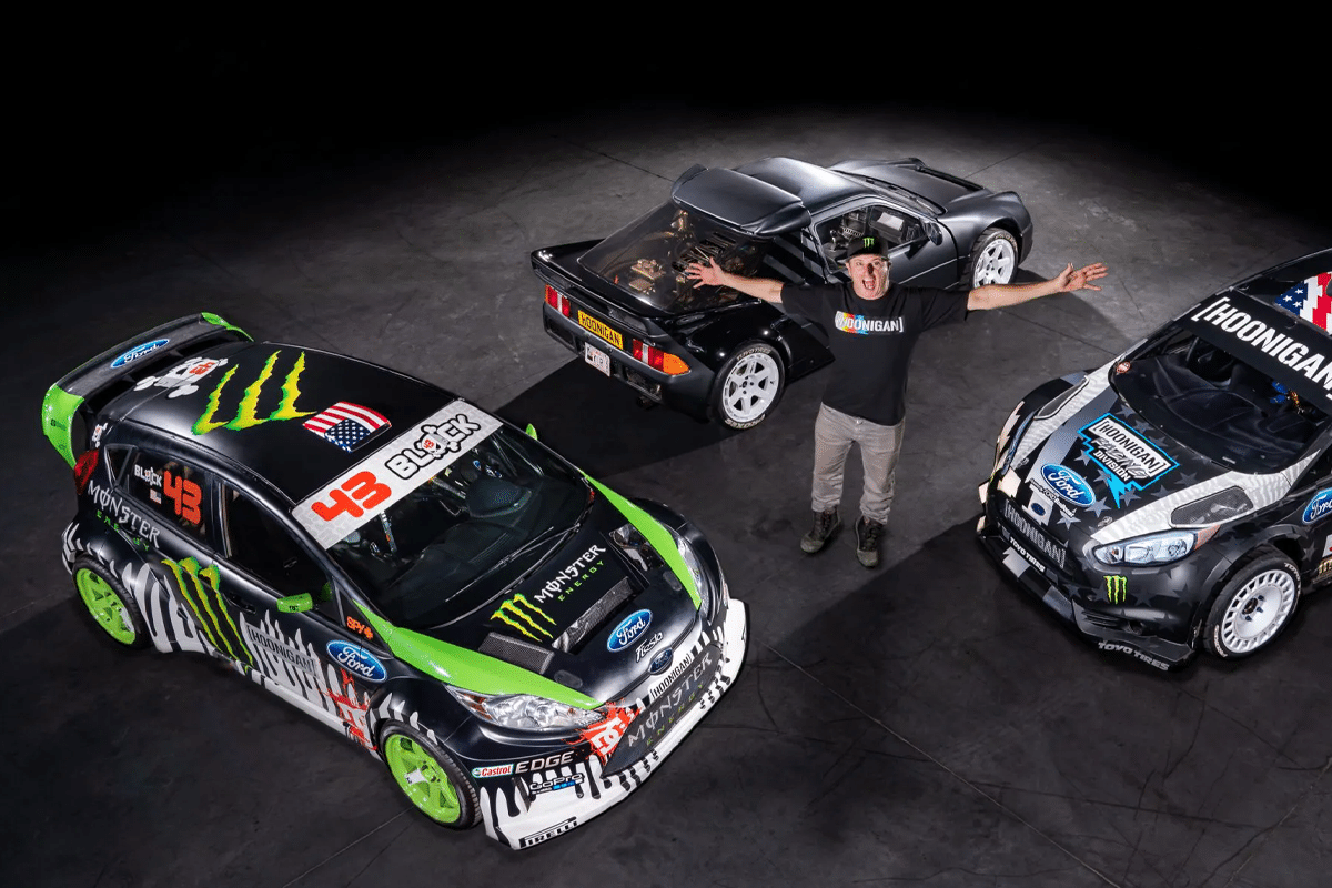 Ken blocks car collection feature