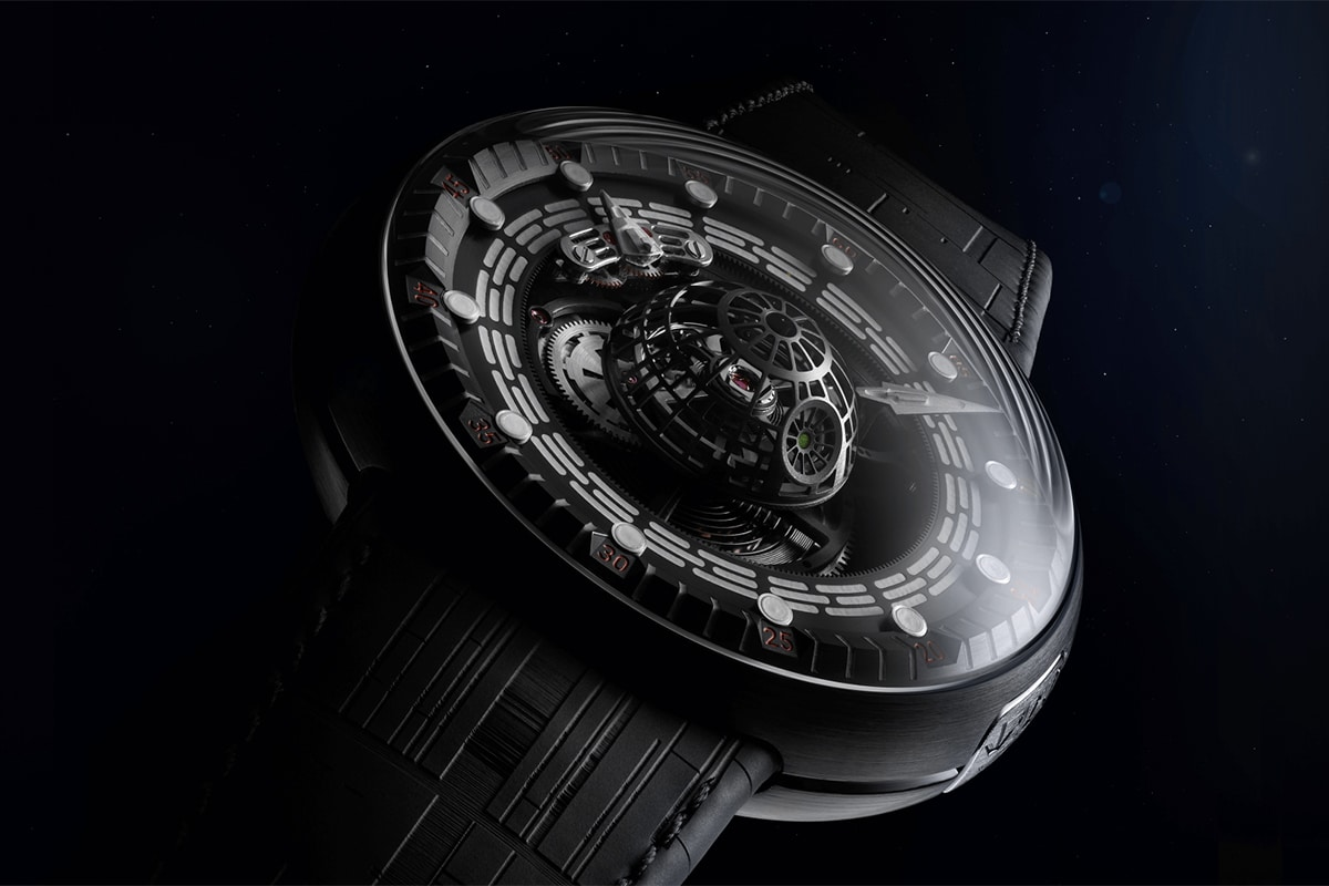 Kross studio death star tourbillon watch 5