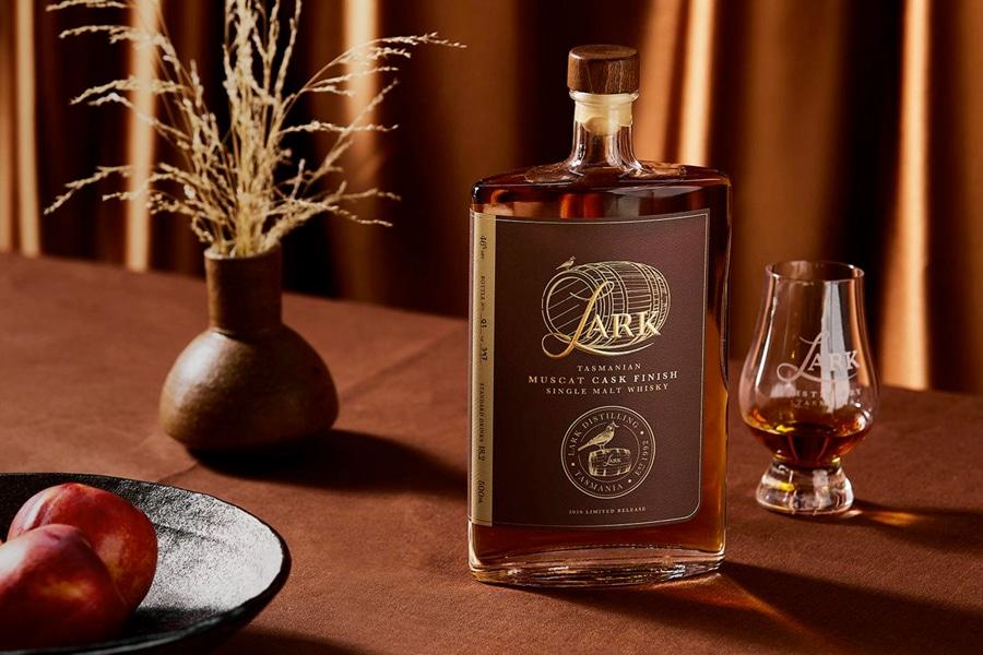 Lark muscat cask finish whisky