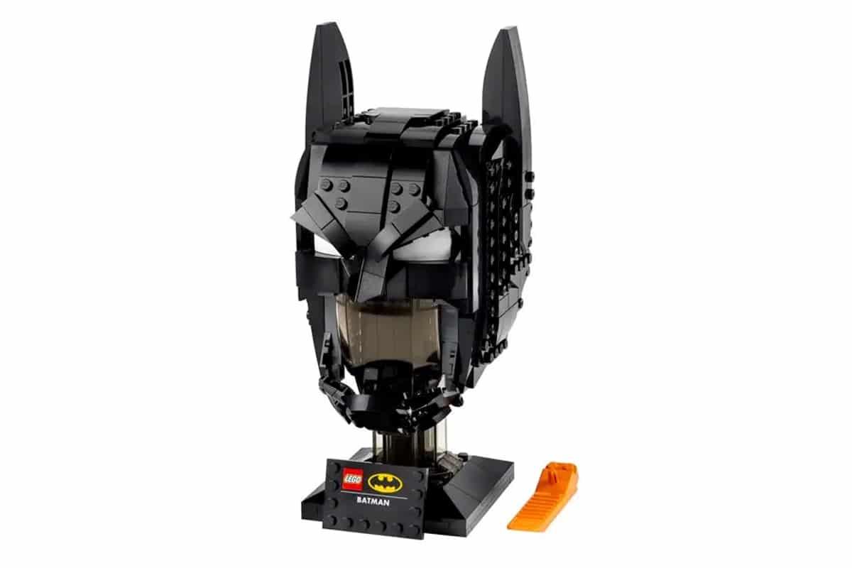 Lego batman cowl building set
