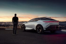 Lexus lfz bev concept car feature image