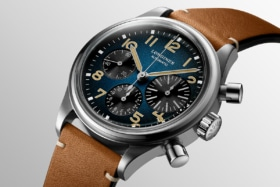 Longines blue feature