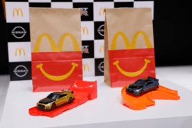 Mcdonalds gtr nismo happy meals