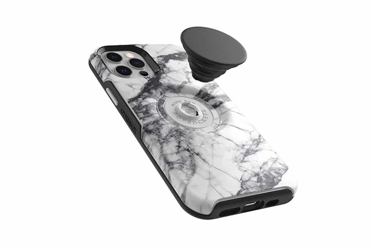 Otterbox White Marble Phone Case