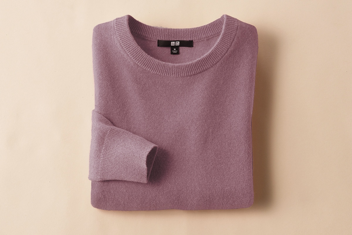 Mothers day uniqlo cashmere sweater