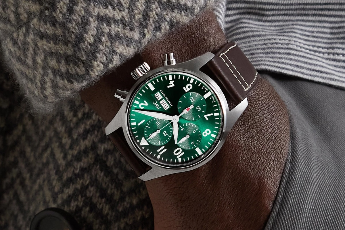 Mr porter iwc feature