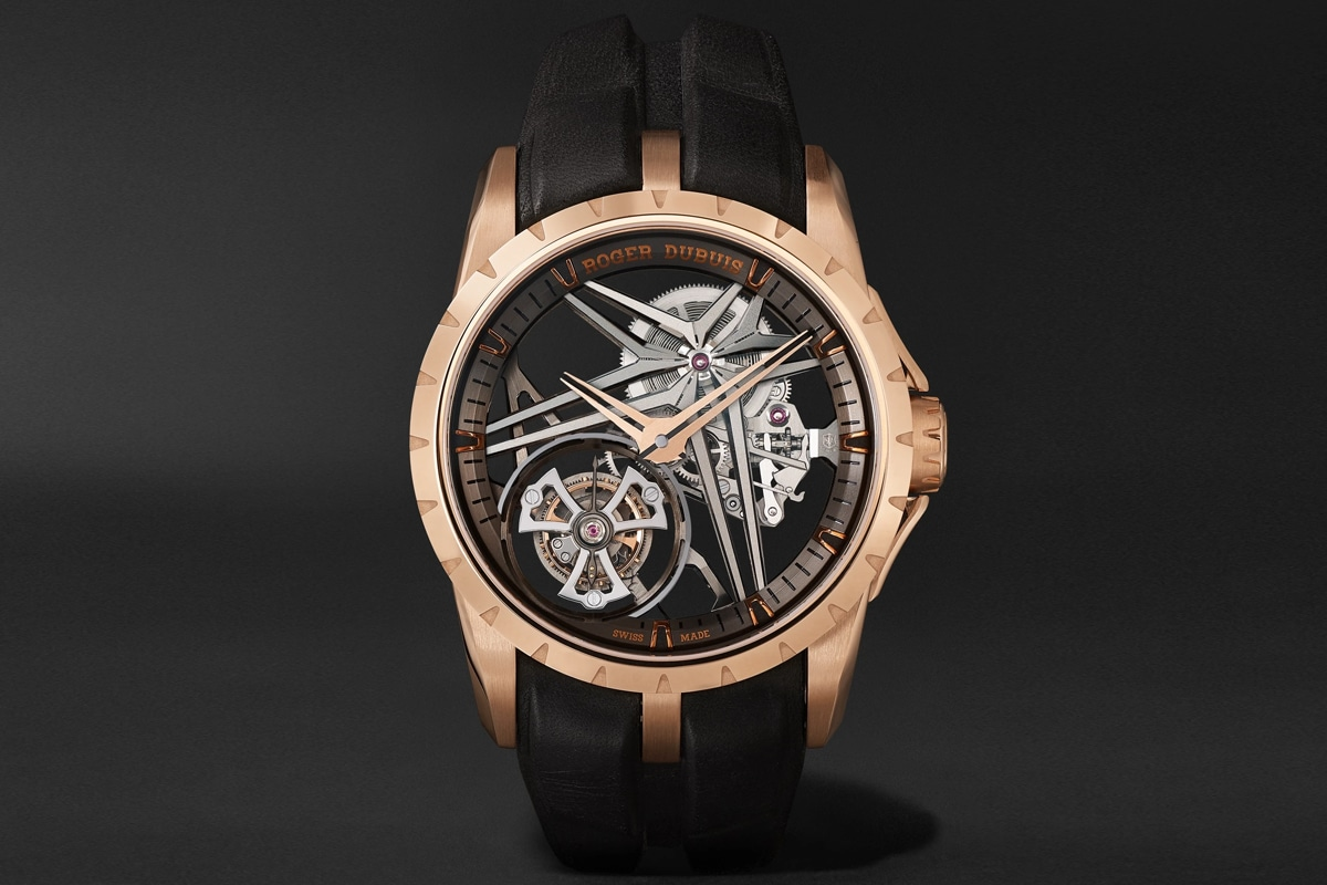 Mr porter roger dubuis watch