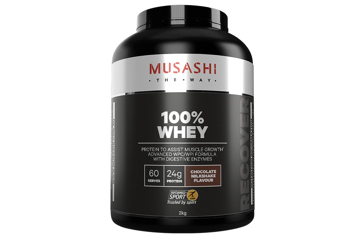 Musashi whey powder 2kg
