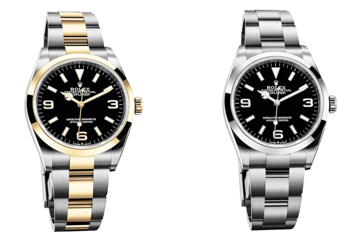 New rolex oyster perpetual explorer 2021